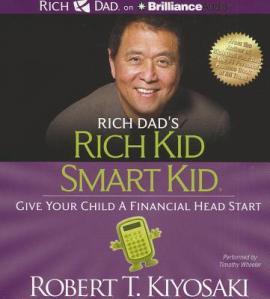 Bìa sách Rich Dad's Rich Kid Smart Kid